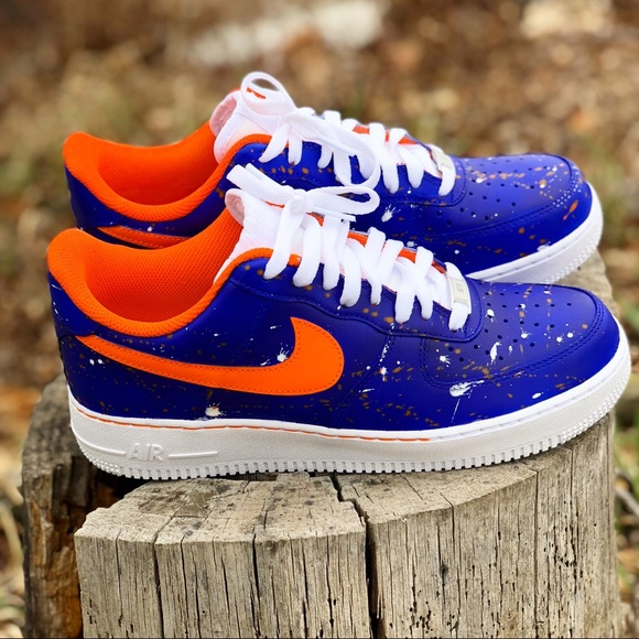 los angeles 3fe7b 4fddc Custom color changing Air Force ones. NWT. Nike